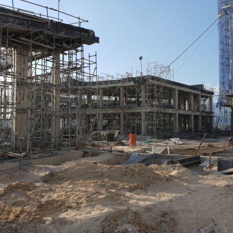 tiến độ xây dựng alma 2