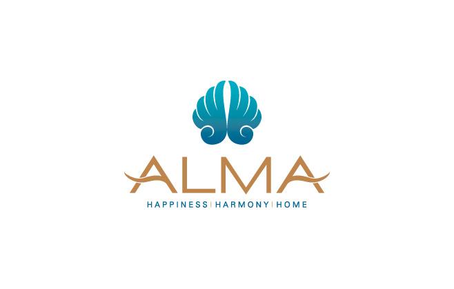 Logo Công Ty Vịnh Thiên Đường (Công Ty ALMA)