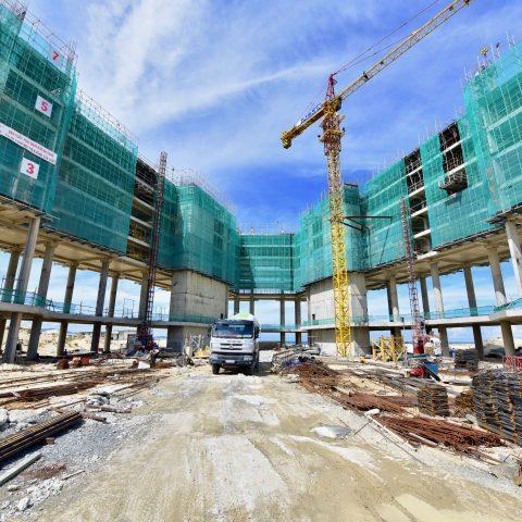 Cập nhật tiến độ xây dựng