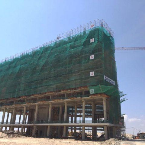 Tiến độ xây dựng công ty ALMA
