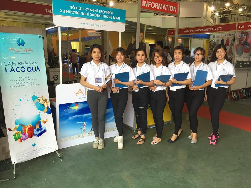 công ty ALMA - vietnam auto expo 2016