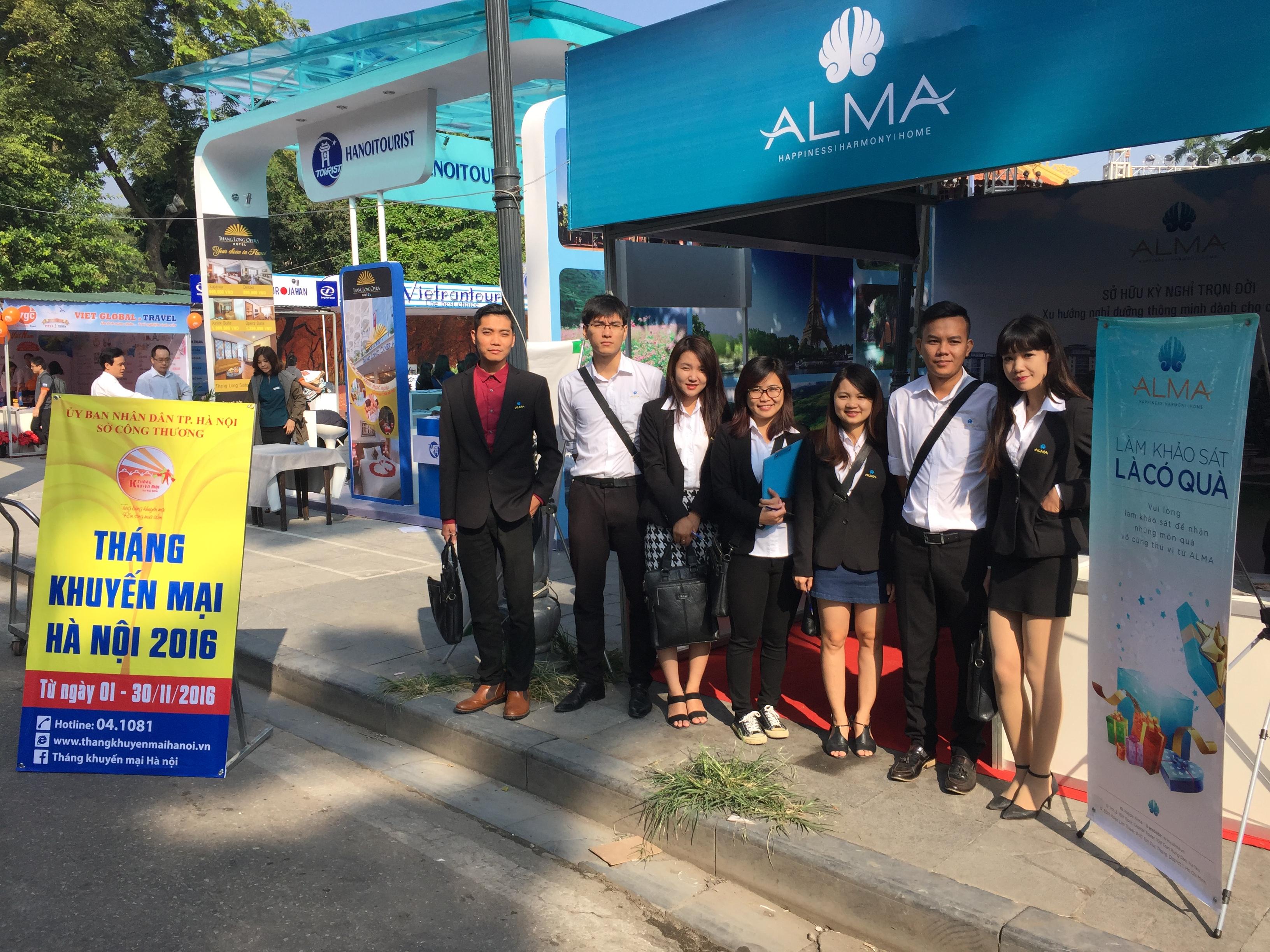 công ty ALMA - sự kiện Tháng khuyến mại Hà Nội