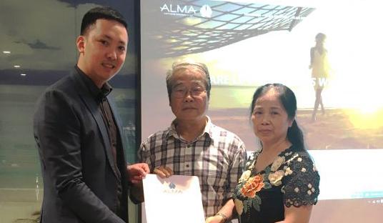 Công ty ALMA - trao giải Thái Lan