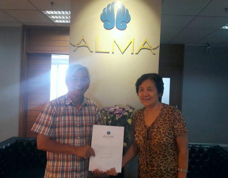 Công ty ALMA - bốc thăm trúng thưởng