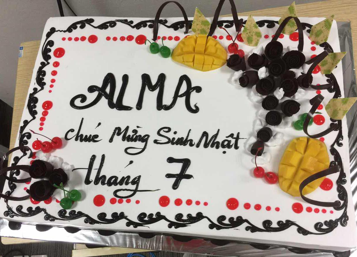 công ty ALMA - sinh nhật tháng 07