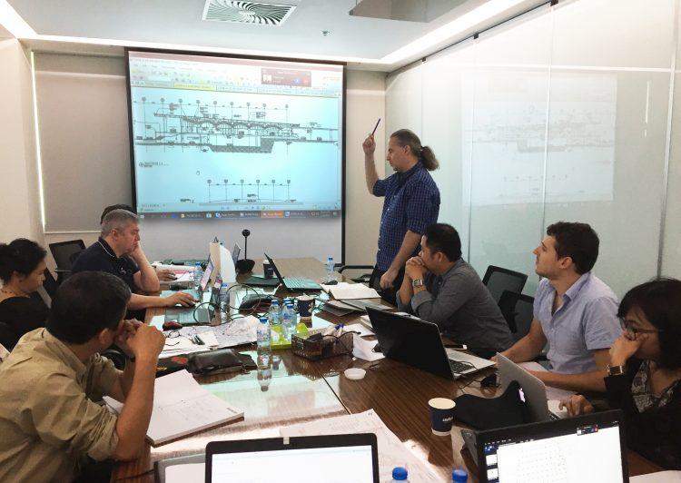 Công ty ALMA - tiến độ dự án