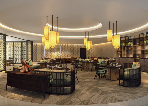 Thiết kế nội thất tại ALMA Resort - 2
