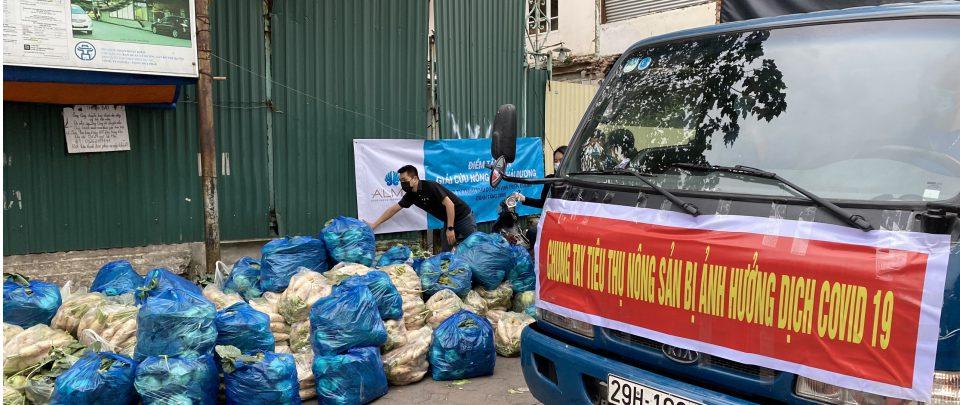 """Công ty Vịnh Thiên Đường """"giải cứu"""" nông sản Hải Dương tặng nhân viên, nhân đôi niềm vui"""