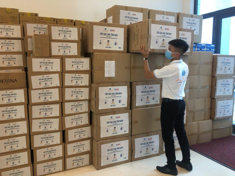 Công ty ALMA chung tay tiếp sức lực lượng y tế vùng tâm dịch